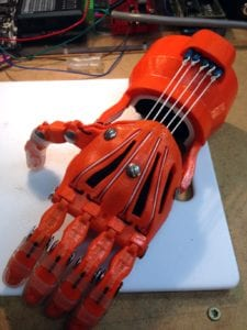 3D Printing Prosthetic Hands with E-nabling the Future
