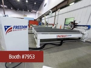 Freedom CNC Router and DMS CNC Router announcements at IWF Atlanta 2014