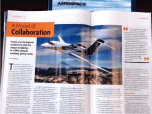 Diversified Machine Systems (DMS) and Cessna Aircraft Company A Model of Collaboration Article in Aerospace Manufacturing and Design Magazine