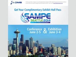 DMS Free SAMPE Tech Seattle Pass