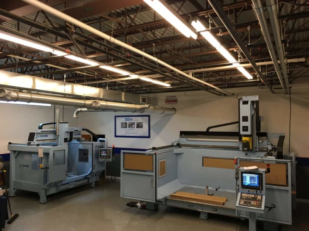 Advanced manufacturing Center DMS