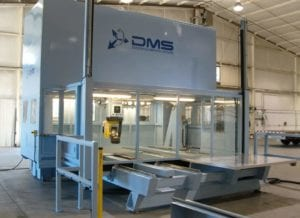 DMS CNC Routers - Enclosed 5 Axis CNC Router - Composites Company in Asia