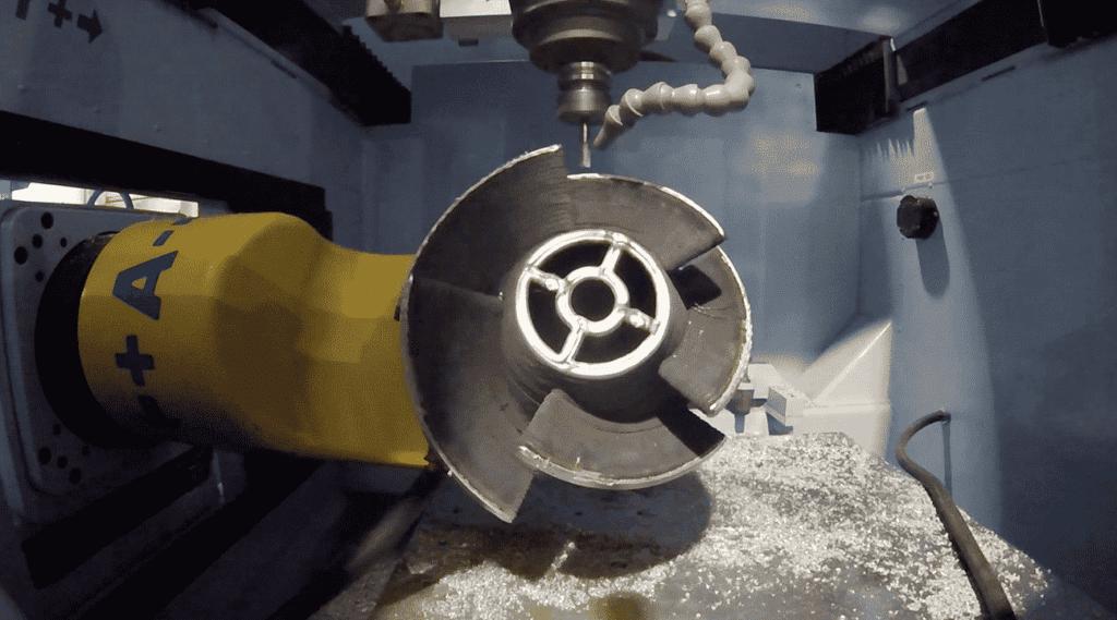 Aluminum 3D Printed Propeller