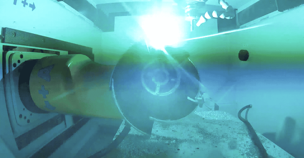Aluminum 3D printing propeller