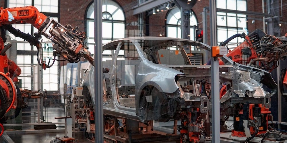 automotive manufacturing cnc machine