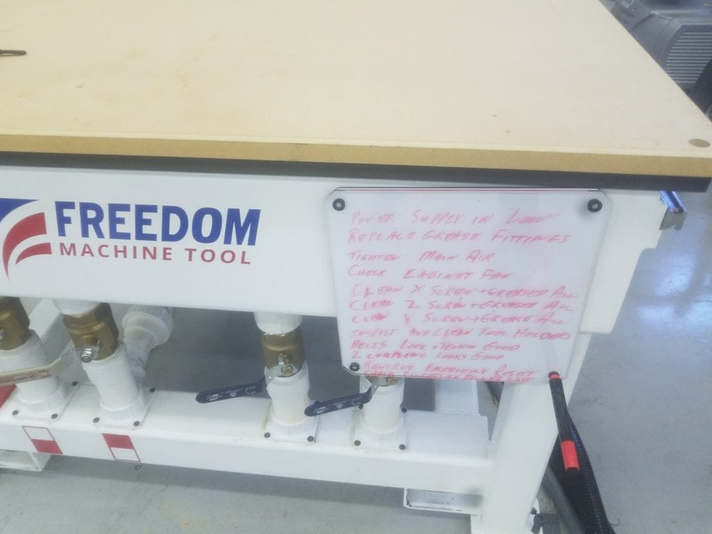 McSquares Freedom CNC Router