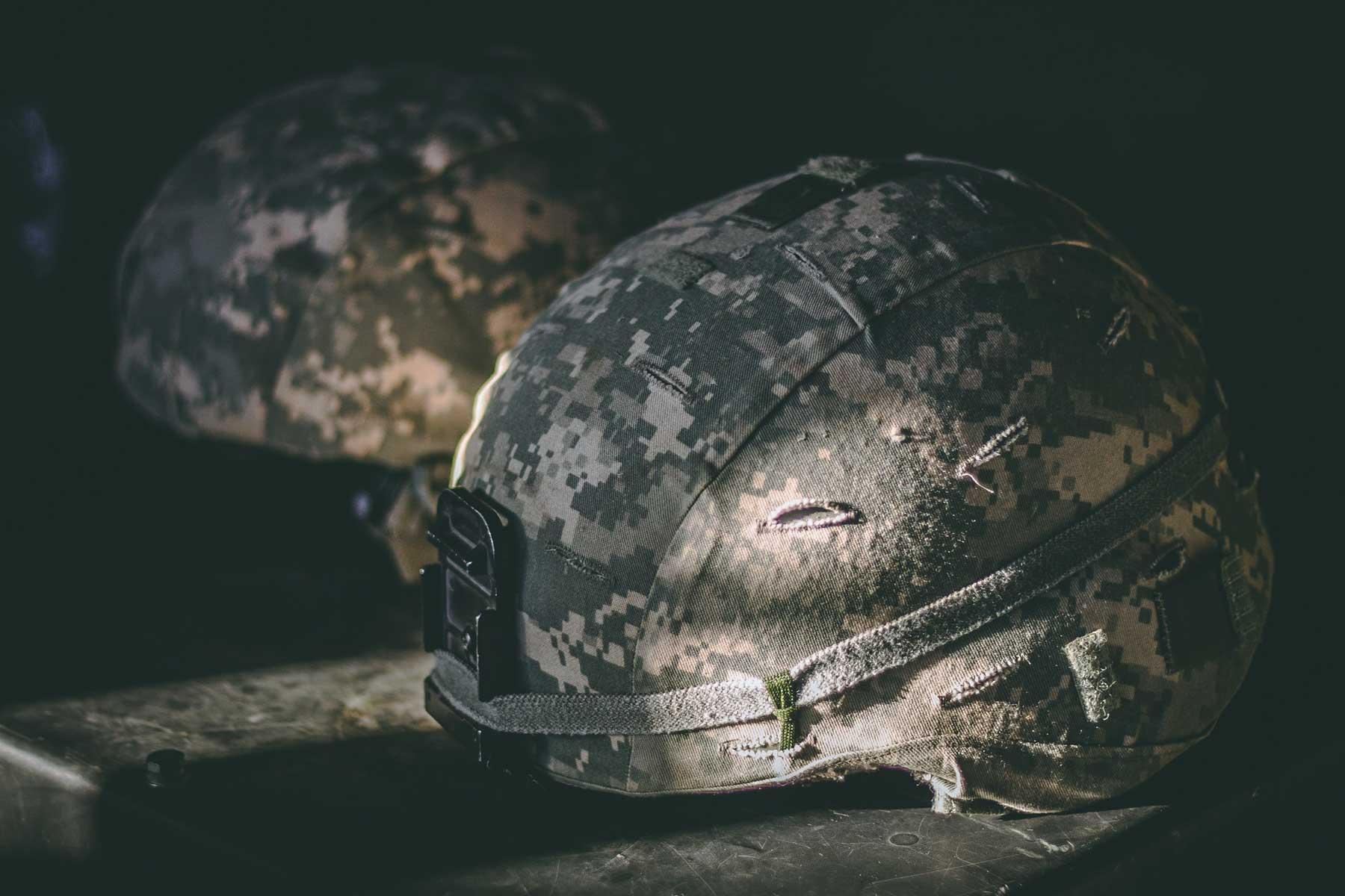 Camouflage Helmets