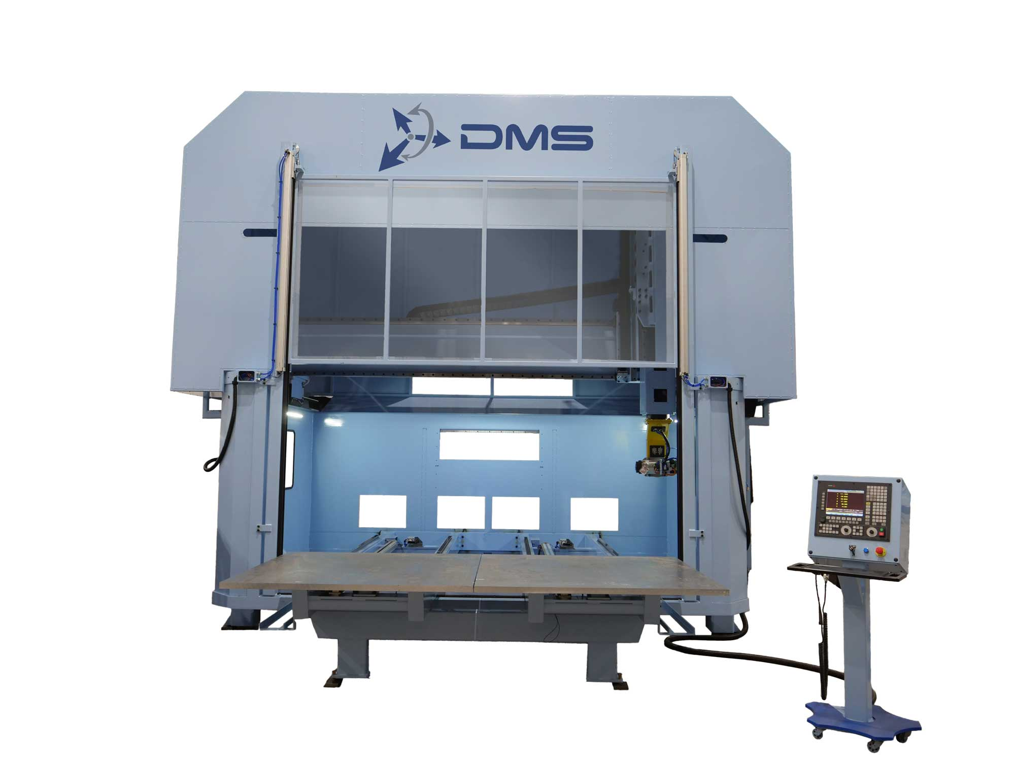 5 Axis Low Rail Enclosed Overhead Gantry With Logo