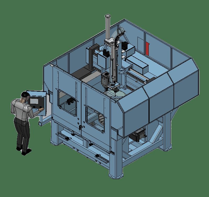 HAM 600 3D Rendering